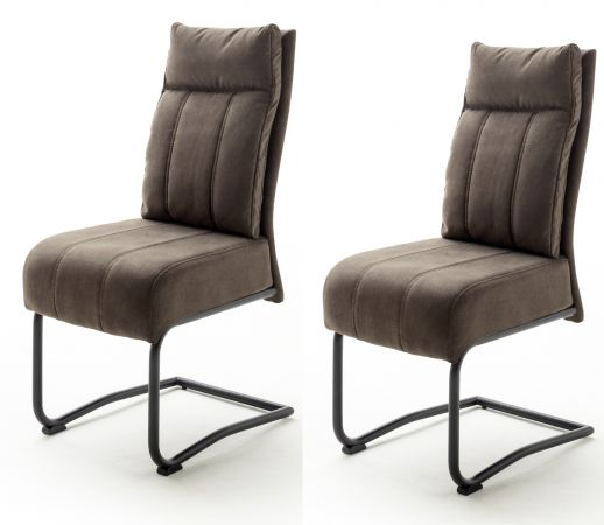 2 x Stuhl Azul sand Antik Freischwinger
