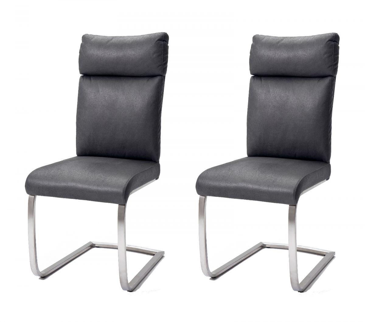 2 x Stuhl Rabea Grau Schwinger