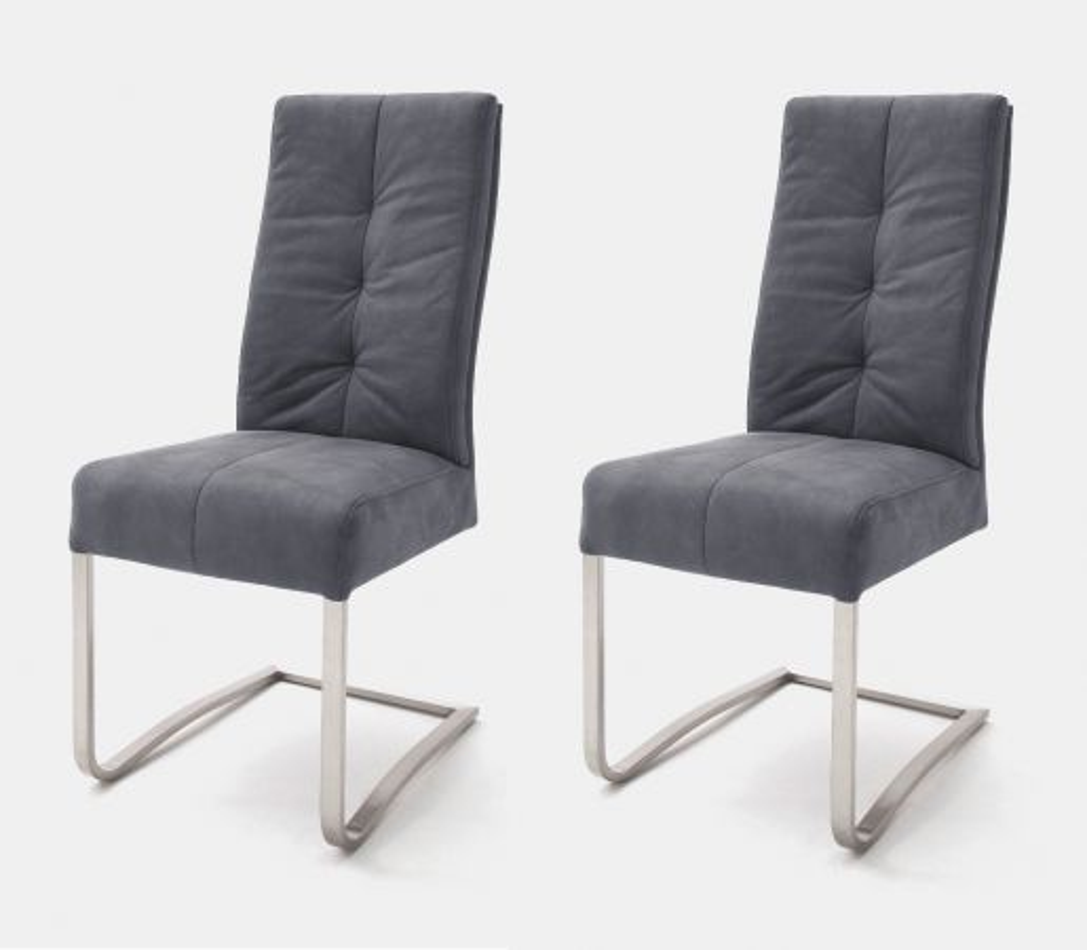 2 x Stuhl Salva Grau Schwinger