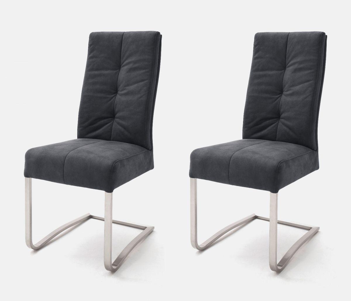 2 x Stuhl Salva Schwarz Schwinger