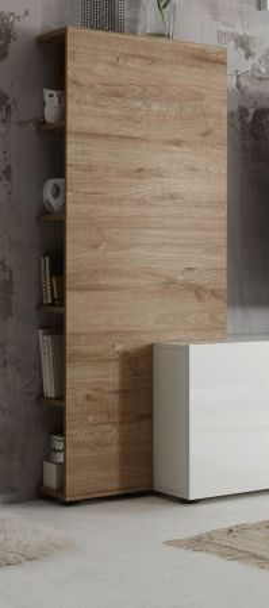 Aufsatzregal für TV-Lowboard Vicenza Eiche 55 cm