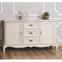 Beiges Vintage Sideboard Shabby Chic