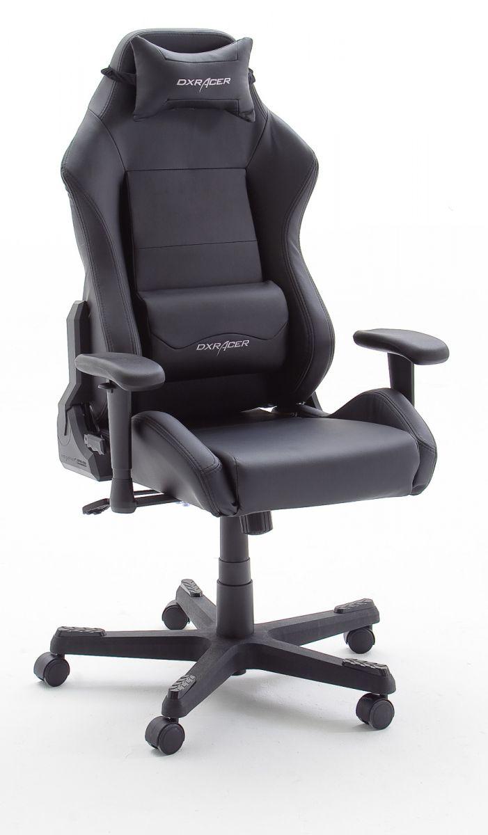 Bürostuhl DX-Racer schwarz