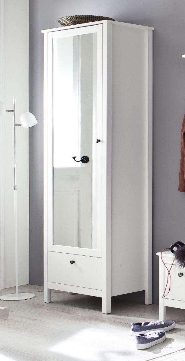 Garderoben- und Schuhschrank Ole weiss 62 cm