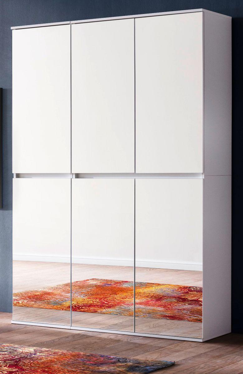 Garderobenschrank Mirror weiss 111 cm