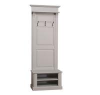 Landhaus Garderobe Grau Holz