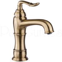 Landhaus Waschtischarmatur Bronze Einhandmischer