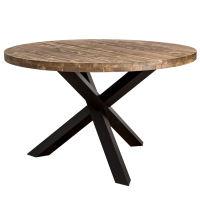Runder Esstisch Massivholz lackiert