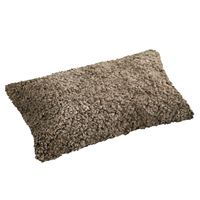 Schaffell Kissen hochwertig 30x50 cm Sahara