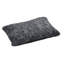 Schaffell Kissen hochwertig 40x60 cm Charcoal