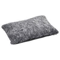 Schaffell Kissen hochwertig 40x60 cm Graphite