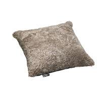 Schaffell Kissen hochwertig 50x50 cm Cork