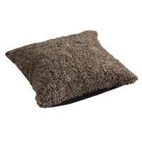Schaffell Kissen hochwertig 50x50 cm Sahara