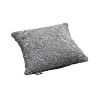 Schaffell Kissen hochwertig 50x50 cm Scand Grey