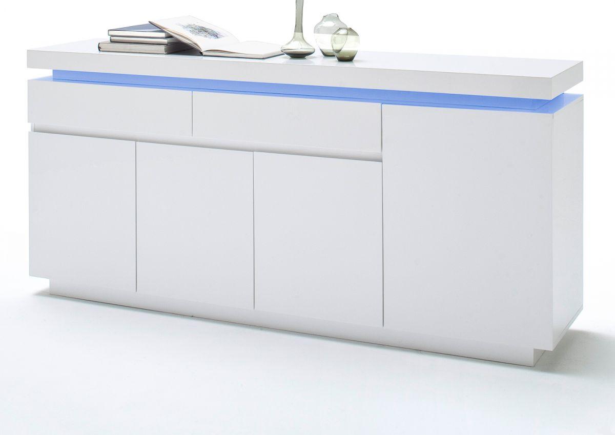 Sideboard Hochglanz weiss Lack 175 cm