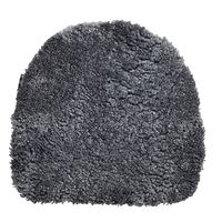 Sitzfell 38 x 40 cm Charcoal