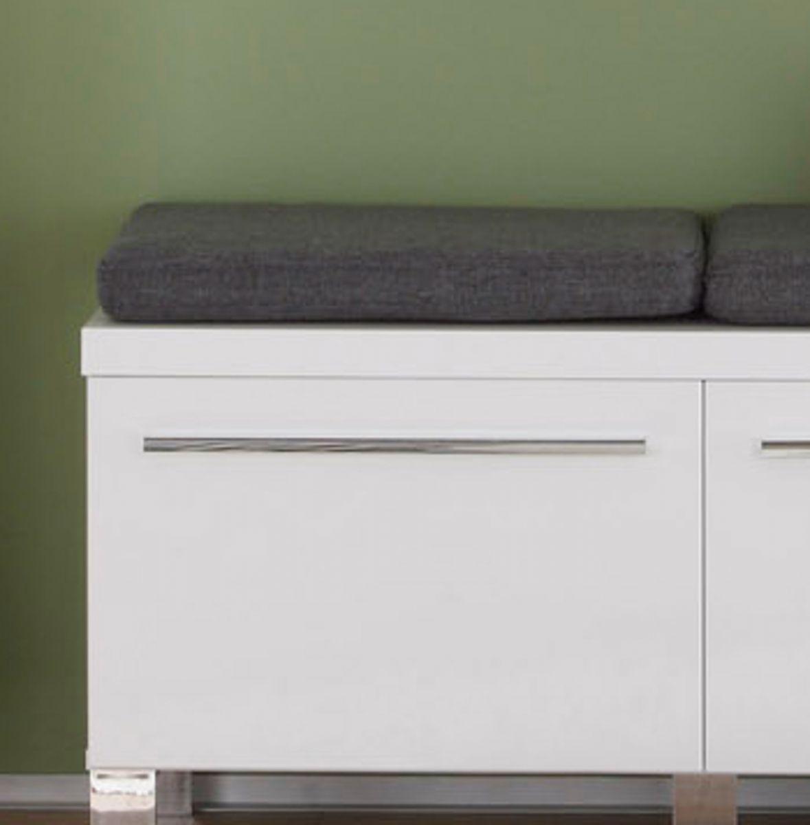Sitzkissen Universal in grau - anthrazit 50 x 32 cm