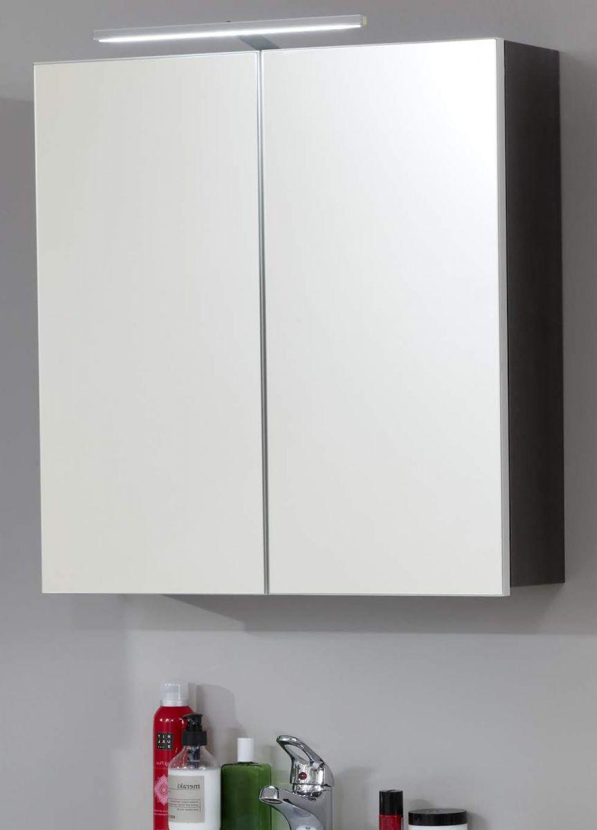 Spiegelschrank Sardegna grau 60 cm