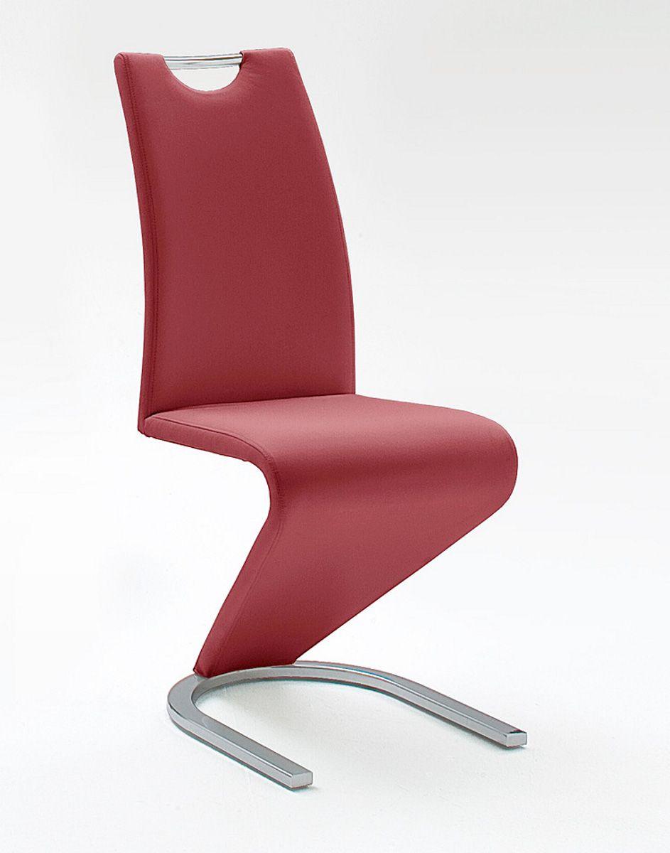 Stühle 2er-Set Amado bordeaux Esszimmer Freischwinger