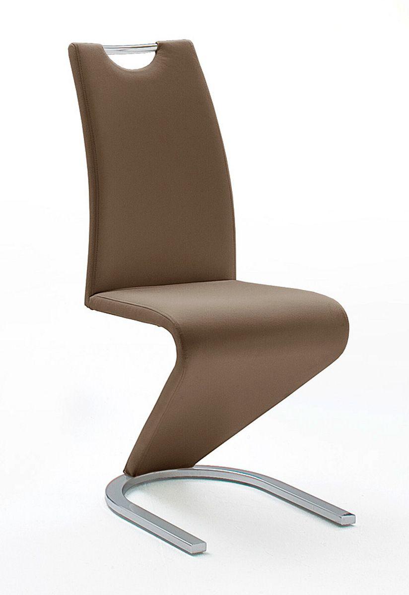 Stühle 2er-Set Amado braun Esszimmer Freischwinger