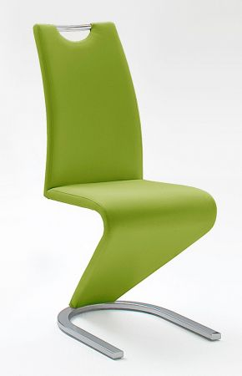 Stühle 2er-Set Amado lime Esszimmer Freischwinger