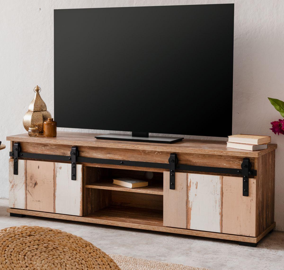 TV-Lowboard Marrakesch Eiche Valhalla 160 x 50 cm