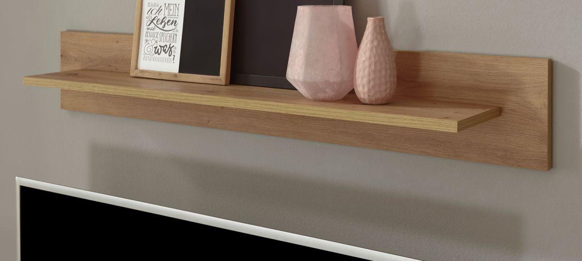 Wandboard Ronson in Eiche Artisan 107 x 17 cm