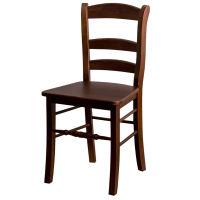 Wirtshausstuhl Clara - Sitzfläche aus Eiche lackiert